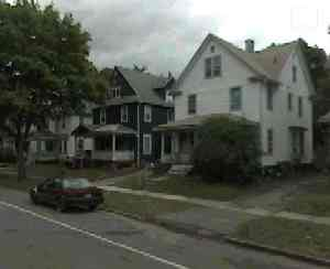 Google Earth shot. The white house was mine. It used to be dark green like the neighbour's.