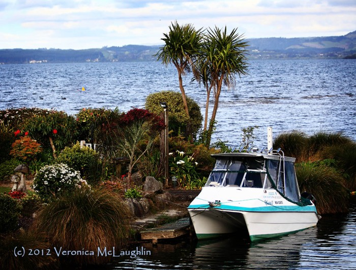 Ngongotaha on Lake Rotorua