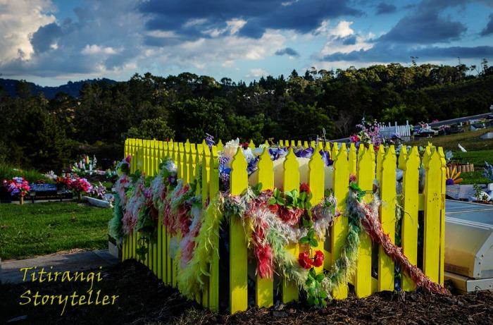 Yellow grave